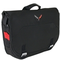 Corvette Stingray Messenger Bag with C7 Cross Flags Logo : C7