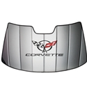 Corvette Accordion Style Sunshade - Insulated : 1997 - 2004 C5