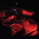 2005-2013 C6 Corvette Footwell LED Lighting Kit