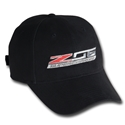 C7 Corvette Stingray - Z06 Supercharged Logo Cap : Black