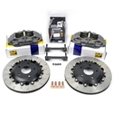 C6 Corvette Brake Package - AP Racing Rear Competition Big Brakes 4-Piston