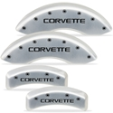 1988-1996 C4 Corvette Brake Caliper Covers with Script and Bolts