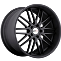 Cray Corvette Wheels - Hawk Matte Black