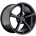 Corvette Wheel - 2010 Grand Sport Style Reproduction - Gloss Black