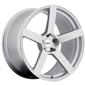 Corvette Wheels - TSW Panorama : Silver with Mirror Cut Face