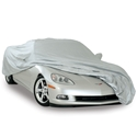 Corvette Car Cover - Intro-Guard  w/ C6 Emblem : 2005-2013 C6, Z06, ZR1 & Grand Sport