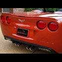 Corvette Rear Spoiler - ZR1 Style Custom Painted : 2005-2013 C6,Z06,Grand Sport