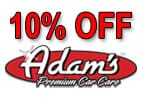 Special: 10% Off Adam's Care Care Products