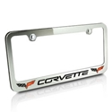 Corvette License Plate Frames
