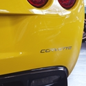 Corvette Rear Letters - Mirror Finish Stainless Steel (Set) : 2005-2013 C6,Z06,ZR1,Grand Sport
