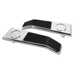 Corvette Door Latch Handles. Without Emblems: 1968-1977