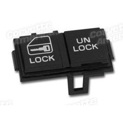 Corvette Power Door Lock Switch. LH: 1984-1985