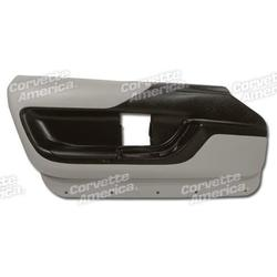 Corvette Door Panel - Gray Convertible LH: 1994-1996