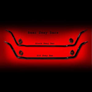 Corvette Sway Bar - GM C6Z06 Rear only : 2005-2013 C6 & Z06