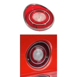 Corvette Backup Light Lens.: 1969