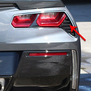 2014, 2015, 2016, 2017 C7 Corvette Stingray, Z51, Z06, Grand Sport Matrix Taillight Grilles