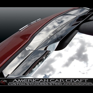 Corvette Nose Cap - Polished Stainless Steel : 2005-2007 C6