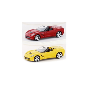 2014, 2015, 2016, 2017, C7 Corvette Stingray Convertible Diecast 1:24