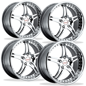 Corvette Custom Wheels - WCC 946 EXT Forged Series (Set) : Chrome