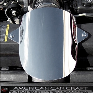 Corvette Air Bridge Cover - Polished Stainless Steel : 2005-2007 C6