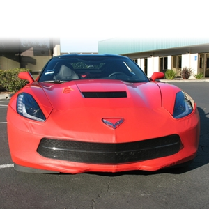 2014, 2015, 2016, 2017 C7 Corvette Stingray, Z51 SpeedLingerie Super Bra - Nose Cover w/out Grille Camera