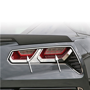 2014, 2015, 2016, 2017 C7 Corvette Stingray, Z51, Z06, Grand Sport Matrix Back-Up Light Grilles