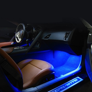 C7 Corvette - Footwell LED Lighting Kit : Stingray, Z51, Z06, Grand Sport, ZR1