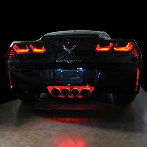 C7 Corvette Stingray, Z51, Z06, Grand Sport, ZR1 Rear Fascia/Exhaust LED Lighting Kit