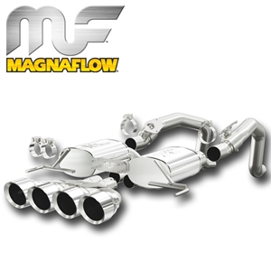 2014 Corvette Stingray Exhaust System - Magnaflow Axle-Back Performance Exhaust System