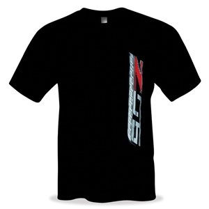 2014, 2015, 2016, 2017,  C7 Z06 Supercharged Corvette T-shirt : Black
