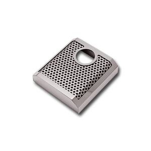 C7 Corvette Stingray, Z51, Z06, Grand Sport, ZR1 Brake Master Cylinder Cover - Polished/Brushed Perforated Stainless Steel - Automatic