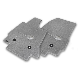2014 C7 Corvette Stingray Floor Mats - Lloyds Mats with Stingray Emblem : Greystone 170
