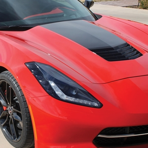 2014, 2015, 2016, 2017, C7 Corvette Stingray Hood Stinger Stripe / Decal : GM Accessories