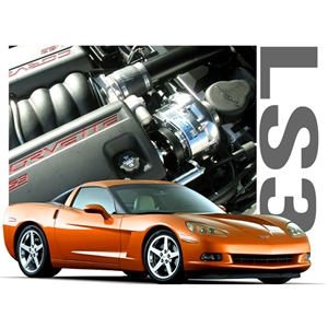 Corvette Supercharger Kit - ProCharger : 2008-2013 C6 & Grand Sport LS3