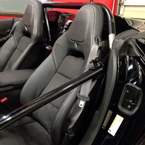 2014,2015,2016,2017,C7 Corvette Stingray Roll Bar - NHRA/SCCA/NASA Legal : Convertible