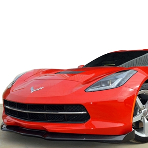 2014,2015,2016,2017, C7 Corvette Stingray Stage 2 Front Splitter - Carbon Fiber