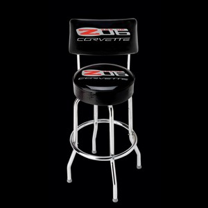 Corvette  EZ-Comfort Stool with C6 Z06 505 HP Logo