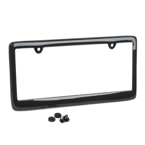 Corvette License Plate Frame - Carbon Fiber : All C5 / C6 / C7 Stingray