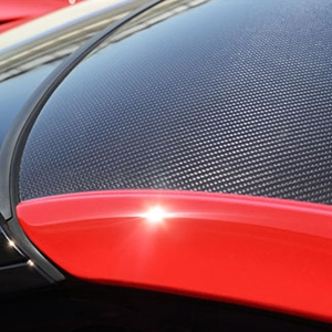 2014, 2015, 2016, 2017, C7 Corvette Stingray Coupe Roof Panel - Carbon-Fiber with Body-Colored Sides
