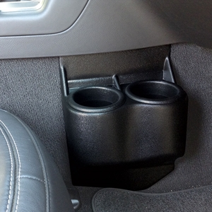 Corvette Dual Cup Holder Travel Buddy : 2005-2013 C6,Z06,ZR1,Grand Sport