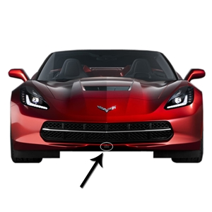 2014, 2015, 2016, 2017 C7 Stingray, Z51, Z06, Grand Sport Corvette Curb Alert