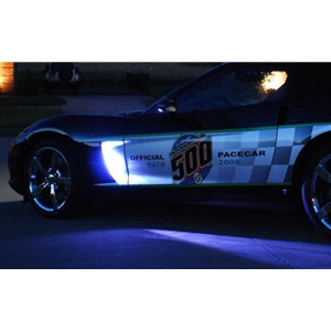 Corvette Fender Side Cove LED Lighting Kit with Standard Remote : 2005-2013 C6, Z06, ZR1