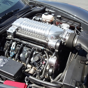 Corvette Supercharger Kit - Whipple Superchargers : 2005-2013 C6 LS2 & Grand Sport LS3