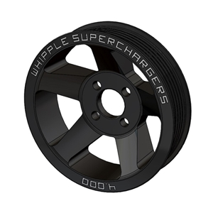 Corvette Supercharger Kit - Whipple 6-Rib Supercharger Pulley only : 2005-2013 C6,Z06