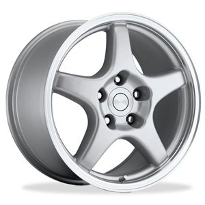 Corvette Wheels - C4 ZR1 / Collector Edition Style Reproduction : Silver