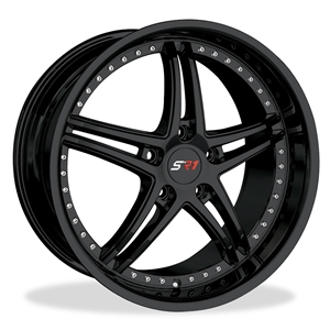 Corvette SR1 Performance Wheels - BULLET Series - Gloss Black