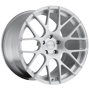 Corvette Custom Wheels - WCC 737 Monobloc Forged Series : Silver Brushed 19x10/20x13 2006-2013 Z06,ZR1,Grand Sport
