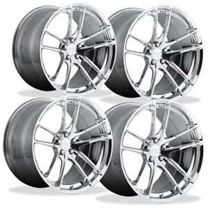 Corvette Custom Wheels - Niche Enyo T76 (Set) : Hi-Luster Polished