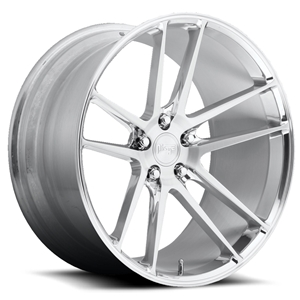 Corvette Custom Wheels - Niche Enyo T76 : Hi-Luster Polished w/Brushed Face