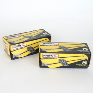 Corvette Brake Pads - Hawk Performance Ceramic Brake Pads: HB658Z.570 / HB659Z.570 - 1 Pc : 2006-2013 Z06 & Grand Sport